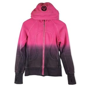 Lululemon Special Edition Ombre Scuba Hoodie Size 4 Pink Purple
